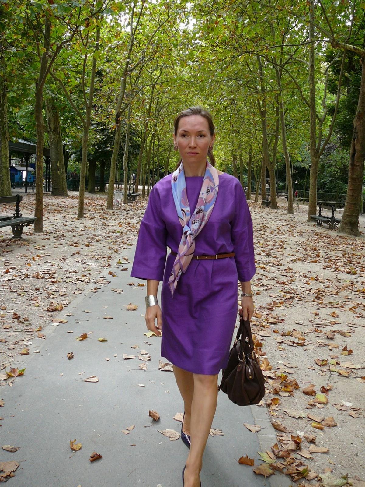 Robe en coton. Платье из хлопка.